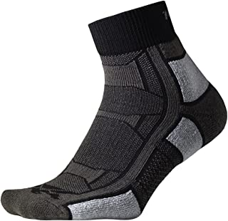 thorlos Men's Oaqu Outdoor Athlete Thin Padded Ankle Sock