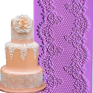 christmas cake lace mats