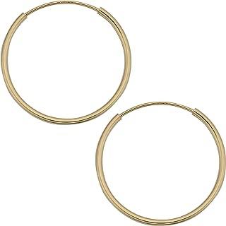 girls 14 karat gold earrings