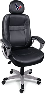 Wild Sports Official NFL Leather Office/Coaches Chair