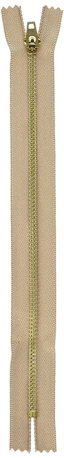 Coats Thread & Zippers F2709-155 Brass Jean Metal Zipper, 9