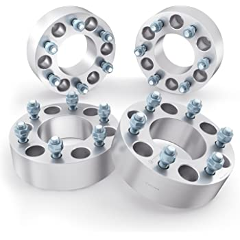 "1/"" Wheel Spacers 6X139.7 14X1.5 New Fits Chevrolet 12-Lug 2pc Set 38mm Thick"