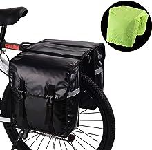 WILDKEN Alforjas para Portaequipajes de Bicicleta, Bolsas Traseras para Bicicletas MTB Sillines Pannier Bag Impermeable Bicicleta Carretera Asiento Trasero