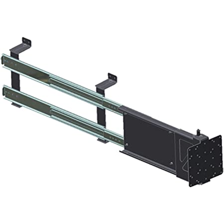 MOR/ryde 111.2016 MORryde TV40-002H Horizontal Sliding TV Mount - Adjustable Depth , Black