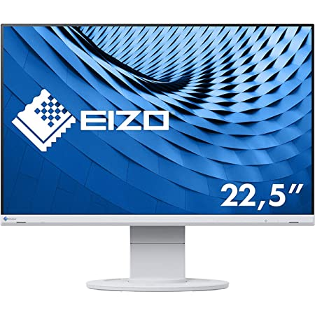 EIZO 22.5型フレームレスモニターFlexScan EV2360-WT(1920×1200/アンチグレアIPS/疲れ目軽減/ホワイト/5