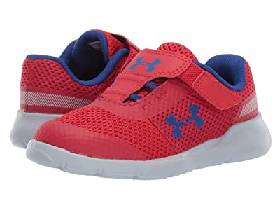 Under Armour Kids UA Inf Surge Running (Toddler) (Red/Mod Gray/Royal) Boys Shoes