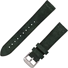 Benchmark Straps Suede Leather Watchband | 18mm, 20mm & 22mm | Available in 8 Colors