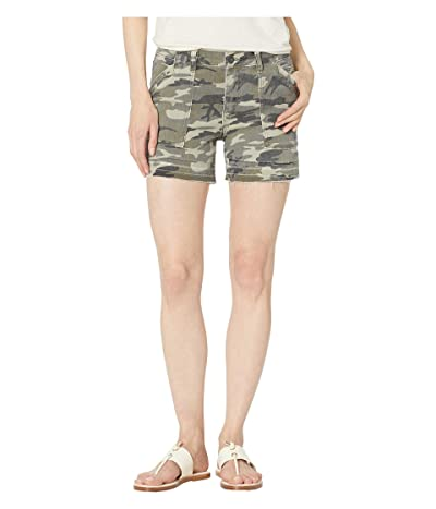KUT from the Kloth Alice Shorts w/ Porkchop Pockets in Olive (Olive) Women