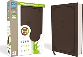 Download Book NIV, Teen Study Bible, Compact, Leathersoft, Brown PDF