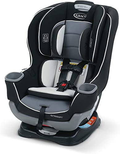 Graco Extend2Fit Convertible Car Seat, Ride Rear Facing Longer with Extend2Fit, Gotham