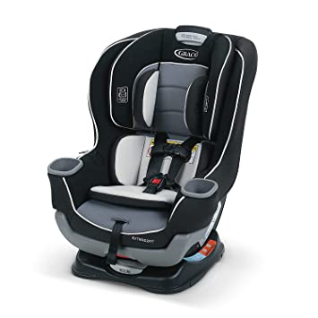 Graco Extend2Fit Convertible Car Seat, Ride Rear Facing Longer with Extend2Fit, Gotham: image
