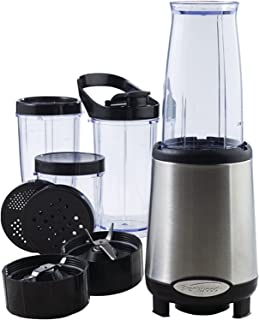 Brentwood JB-199 Multi Pro Personal Blender 20pc Set, Stainless Steel