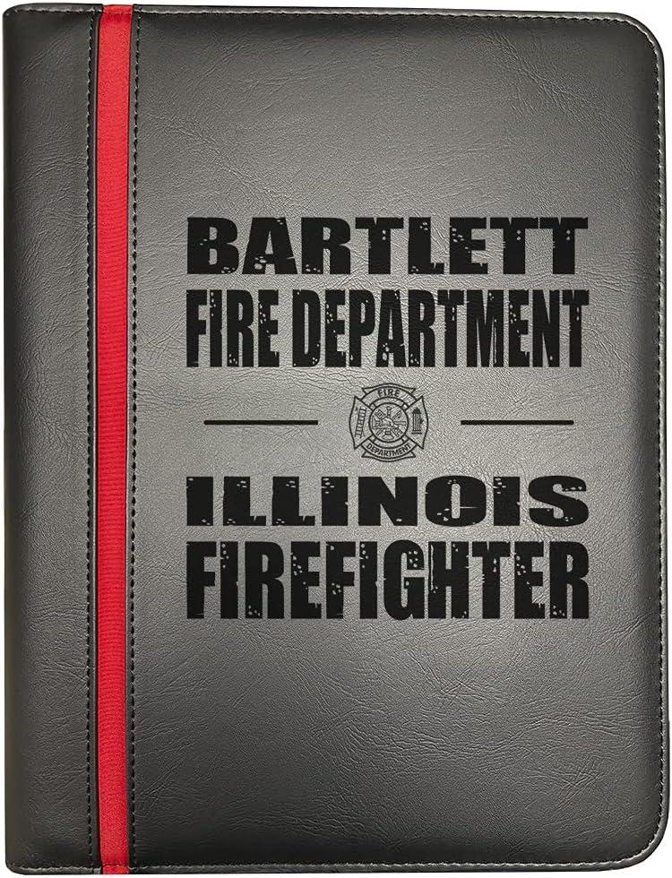 Bartlett Illinois Fire Departments Firefighter Finally popular brand Red New Orleans Mall Thin Fir Line