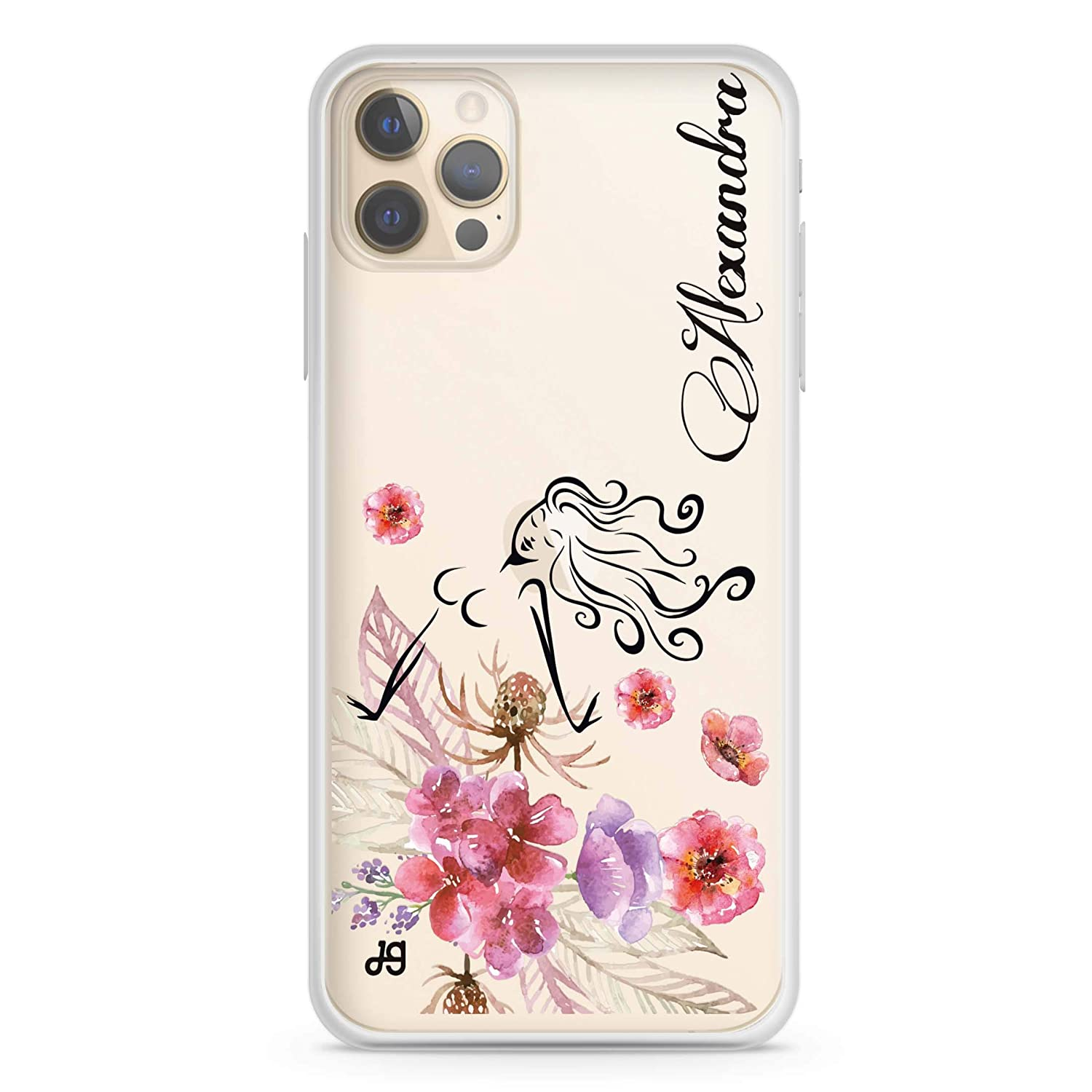 Floral Fairy I iPhone store 12 Pro Max 65% OFF Max Soft Clear iPh Case