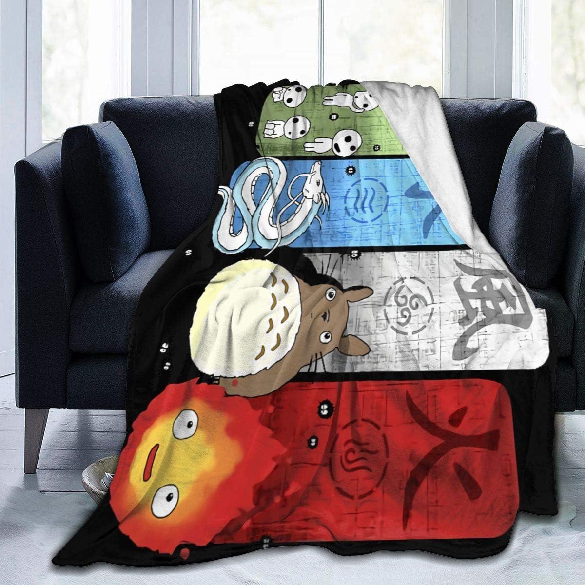 LMHBLTOP Ghibli SALE開催中 Elemental Charms Blanket 格安SALEスタート Ultra-Soft Fleece Flann