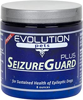 SeizureGuard PLUS Dog Seizure & Epilepsy Supplement. Great Supplement for Dogs with Seizures! Can be used alone or with seizure medication for dogs.