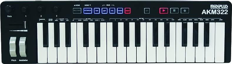 midiplus, 32-Key MIDI Keyboard Controller, 32-Key (AKM322)