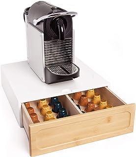 capacidad de 24 c/ápsulas Ever Rich /® Soporte de almacenamiento Vertuoline Nespresso
