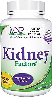 Michael's Naturopathic Programs Kidney Factors - 120 Vegetarian Tablets - Nutrients for Kidney Function & Calcium Processi...
