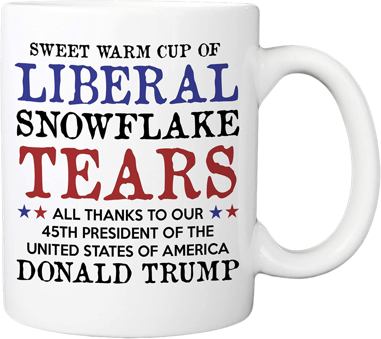 Liberal Tears Mug - Sweet Genuine Of 45th Cup Warm POTUS New life