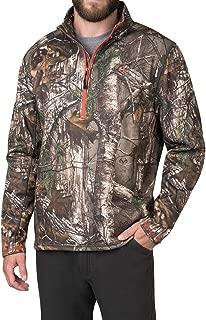 American Outdoorsman Camo Quarter Zip Fleece Pullover in...