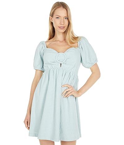 LOST + WANDER Mossy Cove Mini Dress