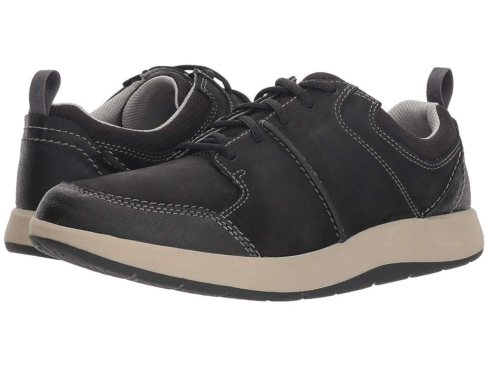 Clarks Shoda Stride (Black Waterproof Leather) Men