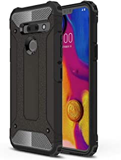 Vultic Armor Case Compatible for LG G5, Heavy Duty Durable Hard [Drop Protection] Bumper Cover Compatible with LG G5 (Black)