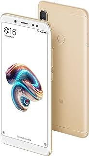 comprar comparacion Xiaomi Redmi Note 5 Smartphone, Pantalla Completa de 5.99 (18: 9), Snapdragon 636 Octa Core de 4GB + 64GB, Cámara Dual, Oro