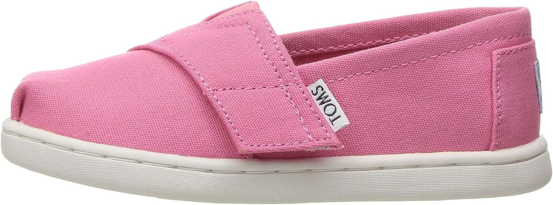 Ranking Superior TOP2 TOMS Classic Bubblegum Pink Espadrilles Tiny Canvas Shoes