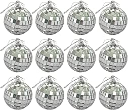 TOYANDONA 18Pcs Christmas Balls Tree Ornaments Hanging Disco Ball Christmas Baubles Xmas Tree Hanging Decorations for Seas...