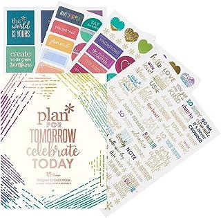 Erin Condren Designer Sticker Book Classic Sticker Book Edition 4 (492 Stickers). Decorative and Cute Stickers for Customi...