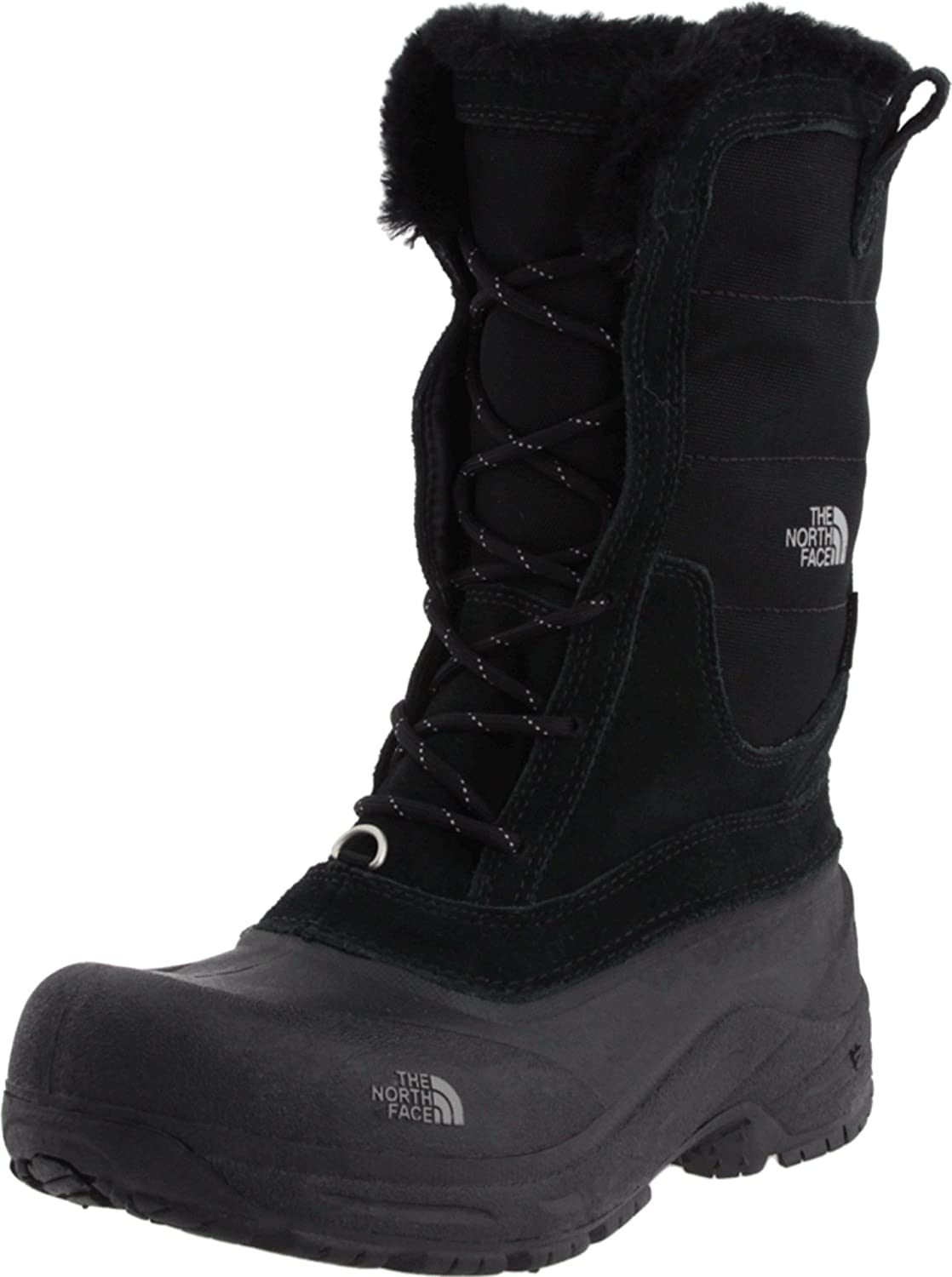 THE NORTH FACE Shellista Lace-Up Insulated Boot (Toddler), Black Foil Grey,10 M US
