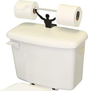 Fairly Odd Novelties FON-10042 Strong Man Funny Weightlifter Bathroom Toilet Paper Holder