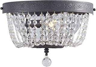 Portfolio Breely 12.01-in W 1-Light Antique Pewter Pocket Wall Sconce