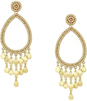 Riley Beaded Drop Earrings