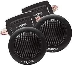 Skar Audio TX-T 1-Inch 240 Watt Max Power Neodymium Silk Dome Tweeters, Pair