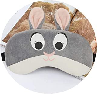 Cartoon Sleep Eye Mask Anime Ice Hot Compress Eye Cover Sleeping Mask Kids Cold Gel Packs Eye Blindfolds Travel Rest Eyepatch,Bunny,with Ice Gel