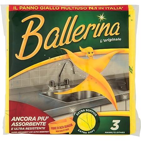 Ballerina Panno Giallo, Multiuso - 3 Pezzi