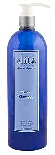 (Official) elita Beverly Hills 34oz SALON SHAMPOO: | All Natural | Paraben & Sulfate Free | Color Safe | Made in USA by elita Beverly Hills elitahair