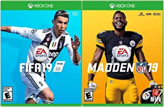 Xbox One Ultimate Sports Gaming Bundle - Includes Madden NFL 19 & FIFA 19