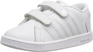حذاء رياضي للبنات من كيه سويس لوزان مقاس 22 EU، ابيض 23525-133