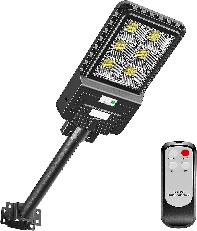 Solar Street Lights Outdoor 396 LEDs Flood Dawn 1 to Dusk List price Brand new Light