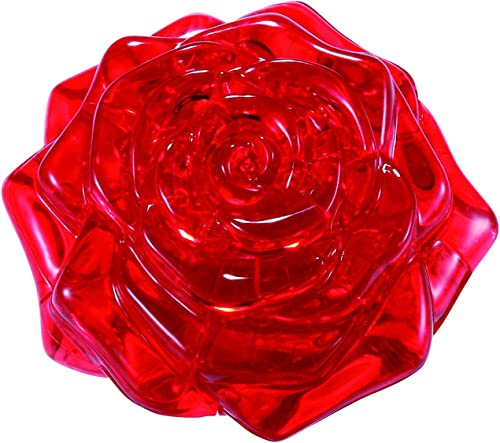 Original 3D Crystal Puzzle - Rosa rot by Bepuzzled