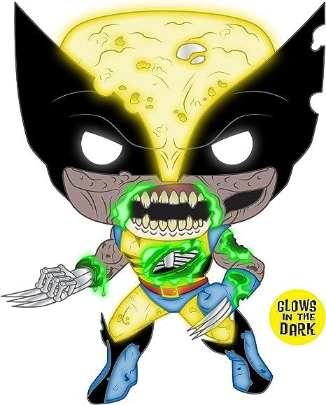 Marvel Funko POP Zombies Wolverine GITD Figure - Entertainment Earth Exclusive