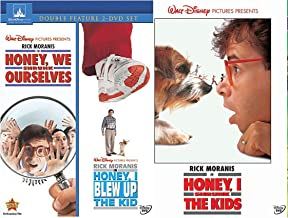 Disney Honey, I Shrunk the Kids + Honey, I Blew Up The Kid & Honey We Shrunk Ourselves DVD 3 Family favorites Kids Fun