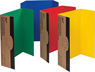 Pacon 37654 Spotlight Corrugated Presentation Display Boards, 48 x 36, Assorted (Case of 4)