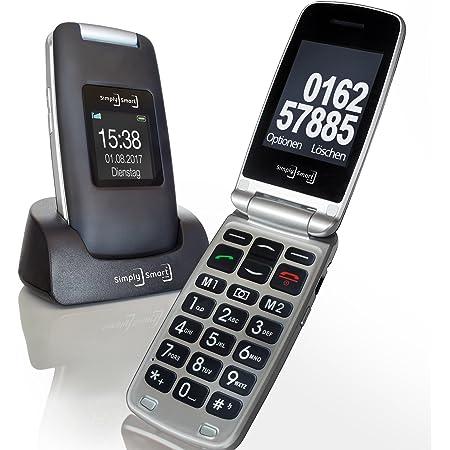 Großtasten Mobiltelefon Seniorenhandy Mb 100 Bordeaux Elektronik
