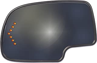 Dorman 56318 Driver Side Heated Door Mirror Glass for Select Cadillac / Chevrolet / GMC Models, Chrome