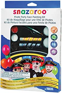 Snazaroo Face Paint Pirate Party Kit
